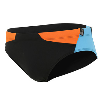 Z3Rod BRIEFS - Slip de bain Homme black/atoll/orange