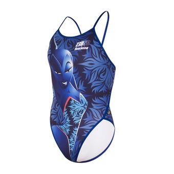 Z3Rod GRAPHIC - Maillot de bain 1 pièce Femme ravenman mermaid blue