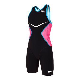 Z3Rod RACER - Tritraje mujer black/pink/atoll