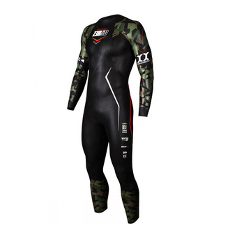 Z3Rod PROFLEX - Tuta triathlon Uomo 5/3/1.5/0.5mm camo