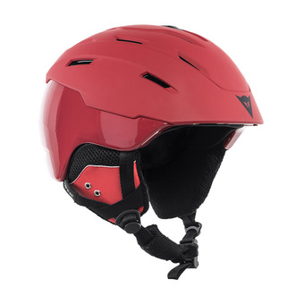 Dainese D-BRID - Casco de esquí chili pepper/chili pepper