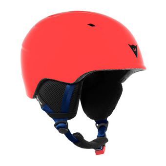 Casco de esquí junior D-SLOPE high risk red/black iris