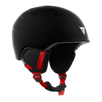 Casco de esquí junior D-SLOPE stretch limo/high risk red