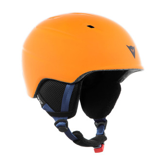 Casco de esquí junior D-SLOPE russet orange/black iris
