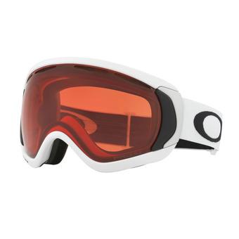 Oakley CANOPY - Gafas de esquí matte white/prizm pink