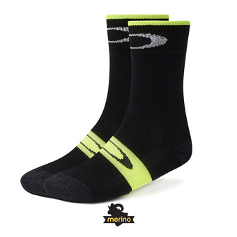 Chaussettes THERMAL WOOL blackout/hi-vis yellow