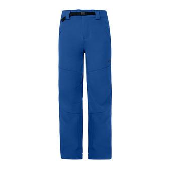 Pantalón de esquí hombre SOFT SHELL dark blue