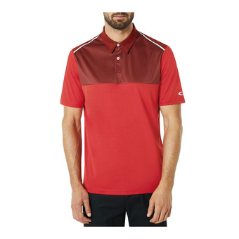 Polo MC homme COLOR BLOCK red line