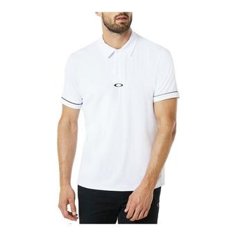 Polo hombre CONTRAST white