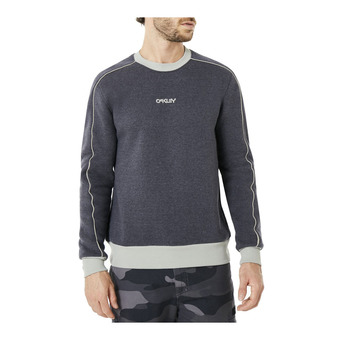 Sweat homme PIPING jet black heather