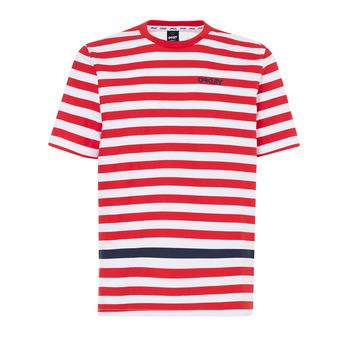 Tee-shirt MC homme CLASSIC STRIPE red line