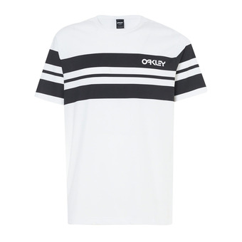 Tee-shirt MC homme CLASSIC STRIPE WIDE white