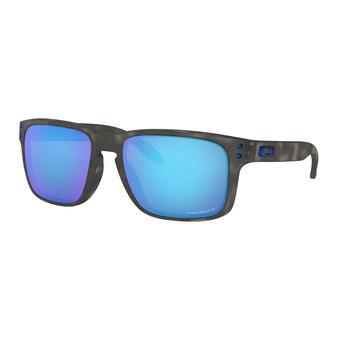 Oakley HOLBROOK - Gafas de sol polarizadas matte black tortoise/prizm sapphire