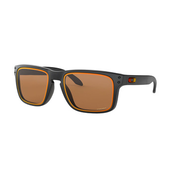 Oakley HOLBROOK - Lunettes de soleil matte black/prizm bronze