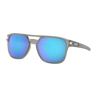 Oakley LATCH BETA - Lunettes de soleil polarisées matte grey ink/prizm sapphire polarized