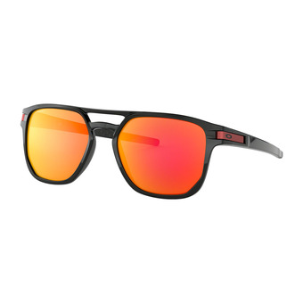 Oakley LATCH BETA - Lunettes de soleil polished black/prizm ruby