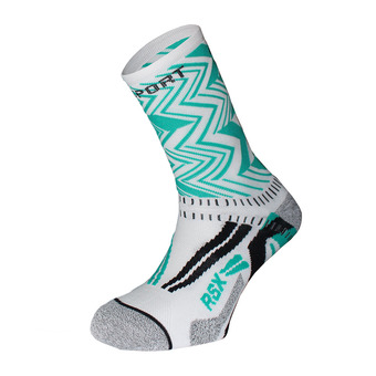Bv Sport RSX EVO COLLECTOR OSLO - Calcetines white/green