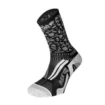 Bv Sport RSX EVO COLLECTOR GRAFIK - Chaussettes noir/gris