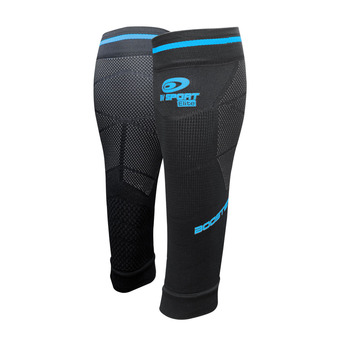 Bv Sport BOOSTER ELITE EVO2 - Calf Sleeves - black/blue