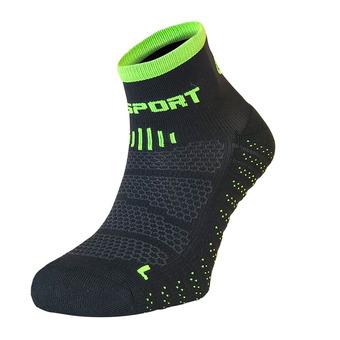 Bv Sport SCR ONE EVO - Chaussettes noir/vert