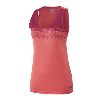 Millet BARRINHA - Camiseta de tirantes mujer dark coral