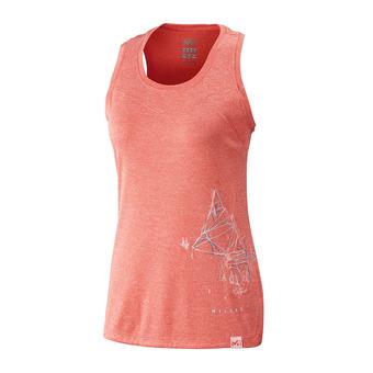 Millet BOREN - Camiseta de tirantes mujer dark coral