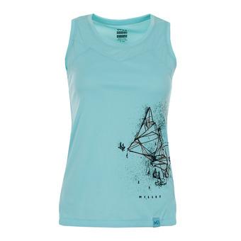 Millet BOREN - Camiseta de tirantes mujer aruba blue