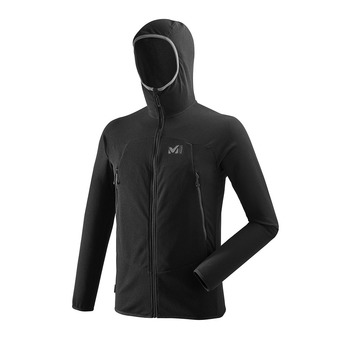 Millet K LIGHTGRID HOODIE - Fleece - Men's - black
