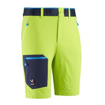 Millet TRILOGY ONE CORDURA - Shorts - Men's - acid green/sapphire