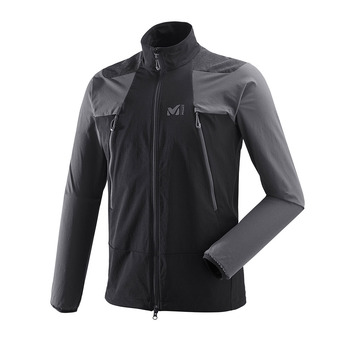 Millet K ABSOLUTE XCS - Jacket - Men's - black/tarmac