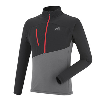 Millet ELEVATION - Jersey - Men's - tarmac/black
