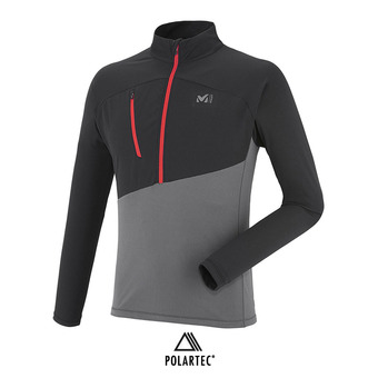 Millet ELEVATION - Camiseta hombre tarmac/black