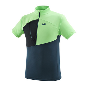 Millet ELEVATION - Maillot Homme orion blue/flash green