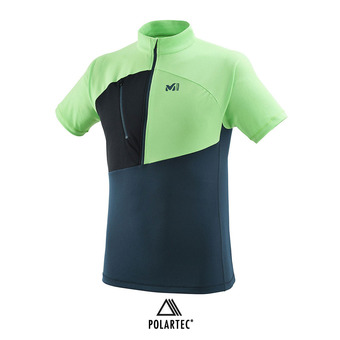 Camiseta hombre ELEVATION orion blue/flash green