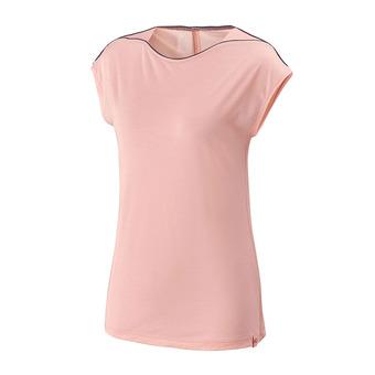Camiseta mujer CLOUD PEAK pop coral