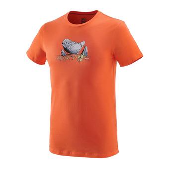 Millet BOULDER DREAM - Camiseta hombre vermillon