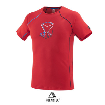 Maillot MC homme TRILOGY DELTA CUBE red