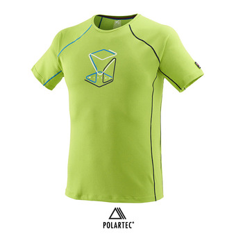 Maillot MC homme TRILOGY DELTA CUBE acid green