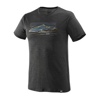 Millet SEVAN WOOL - Tee-shirt Homme black