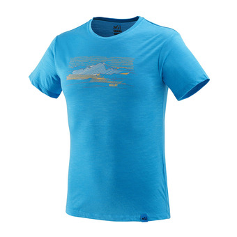 Millet SEVAN WOOL - T-shirt Uomo electric blue