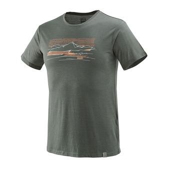 Millet SEVAN WOOL - Camiseta hombre castle gray