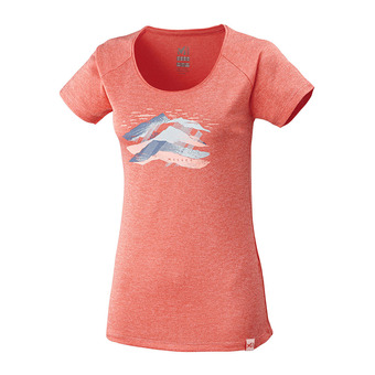 Millet COME - Camiseta mujer dark coral
