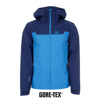 Millet KAMET LIGHT GTX - Chaqueta hombre electric blue/blue depths