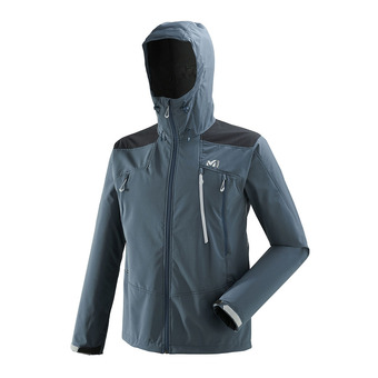 Veste à capuche homme K SHIELD orion blue