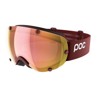 Gafas de esquí/snow LOBES CLARITY lactose red/spektris rose gold