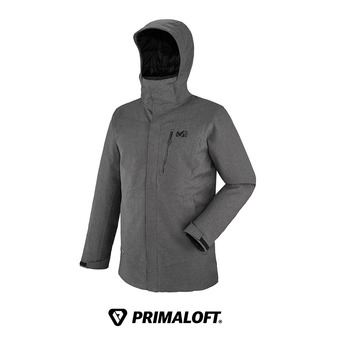 Veste à capuche homme TRIVOR PARKA deep heather - DESCRIPTION KO
