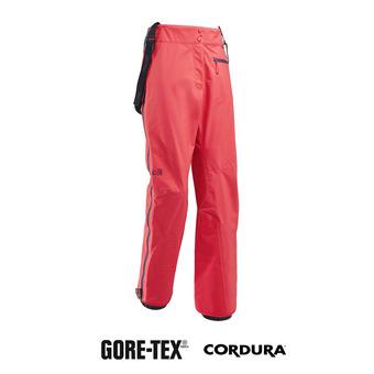 Pantalón de esquí con tirantes mujer KAMET 2 GTX® poppy red