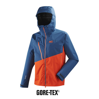 Veste à capuche homme ELEVATION GTX® orange/poseidon