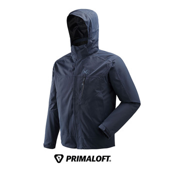 Veste à capuche homme POBEDA II 3 IN 1 navy/black