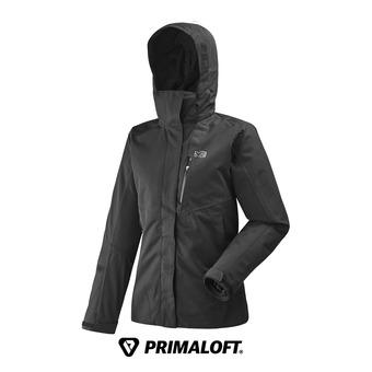 Veste à capuche femme POBEDA II 3 IN 1 black